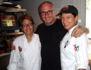 My James Beard Award Chef Michael Swartz & James Beard Award Nominee Chef Hedy Goldsmith... My AWESOME INSPIRING mentors:).... The last day of my Internship:)