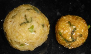 Pumpkin Sage Matzo Balls.... those are some wise gourds:)