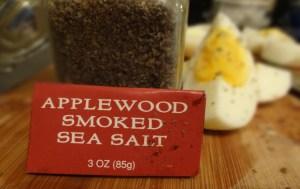 Applewood Smoked Sea Salt & Perfectly Done Hard Boiled Eggs