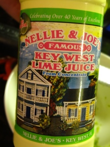 Nellie & Joe's Famous Key Lime juice.. if it has been around for 40 years they have to be doing something right:)