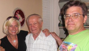 Gramps & Dad with me when I was blonde:)
