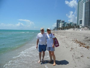 Mom & Dad love Sunny South Florida in the Summer :)  Come & Visit too!!
